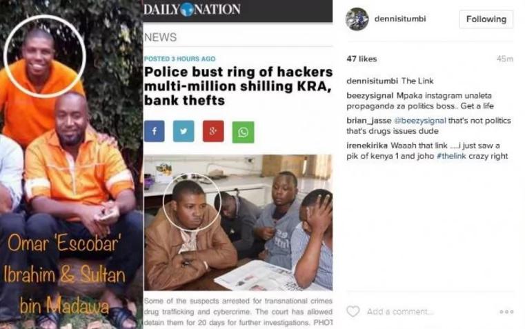 Joho linked to arrested IEBC hacking gang