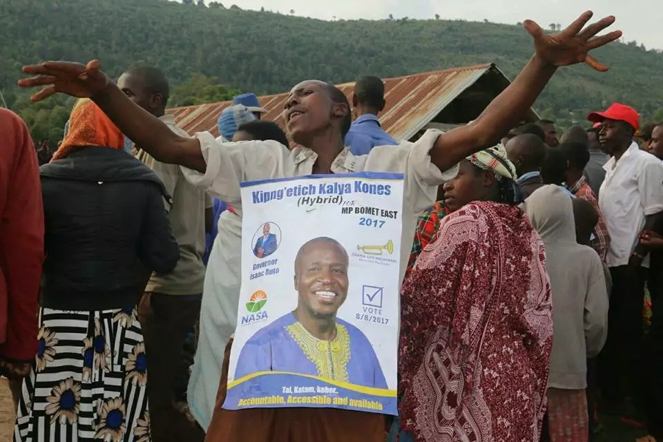 Son beaten by mother in hotly contested Bomet East race