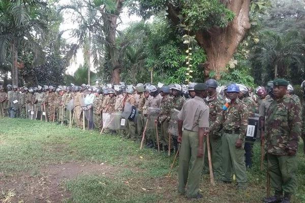 Showdown looms in Kisumu between NASA die hards and police officers