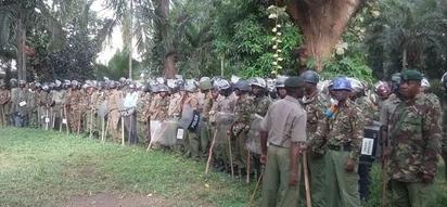 Ulinzi mkali washuhudiwa Kisumu huku uchaguzi wa urais ukitarajiwa kufanyika Oktoba 26