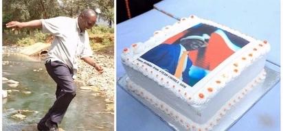 Baada ya kula keki ya kuzaliwa kwa Raila, Gideon Moi asema 'sikuionja hataa'