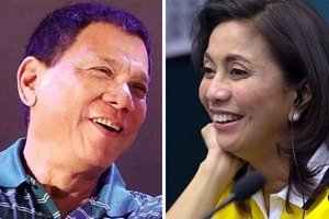LOOK: Duterte and Robredo's romantic encounter during NSC meeting!