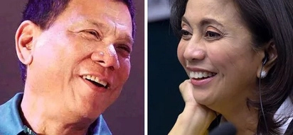 LOOK: Duterte and Robredo's romantic encounter during NSC meeting!