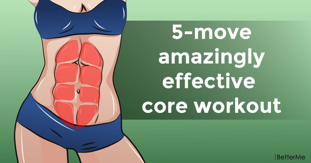 5-move amazingly effective core workout