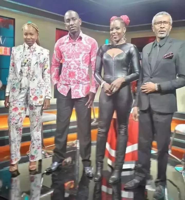 Mwanamitindo wa awali wa Citizen TV ni mjamzito...mimba ya mwanachama wa Sauti Sol