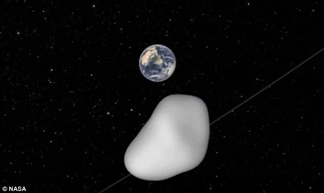 House-sized asteroid passes near earth
