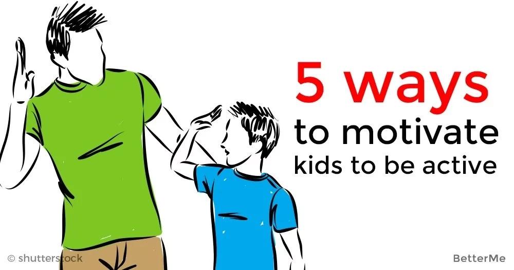 5 ways to motivate kids to be active