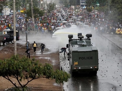 Amnesty International reacts to Raila's chaotic and bloody welcome home party