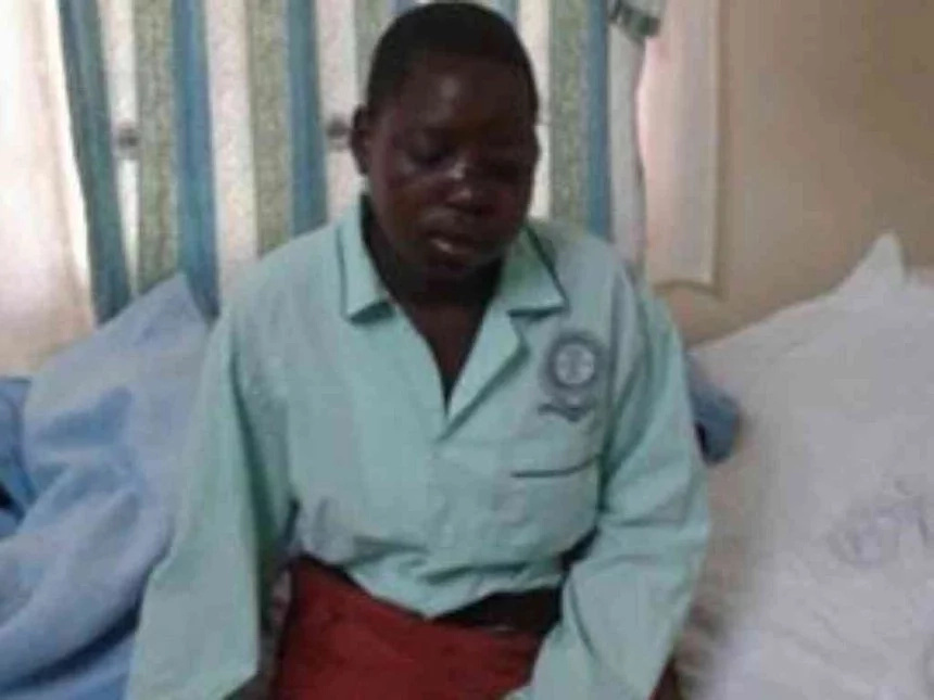 Student shot by prison warder discharged with a blind eye