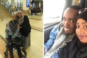 The beautiful love story of a woman who chose to live with her disabled sweetheart