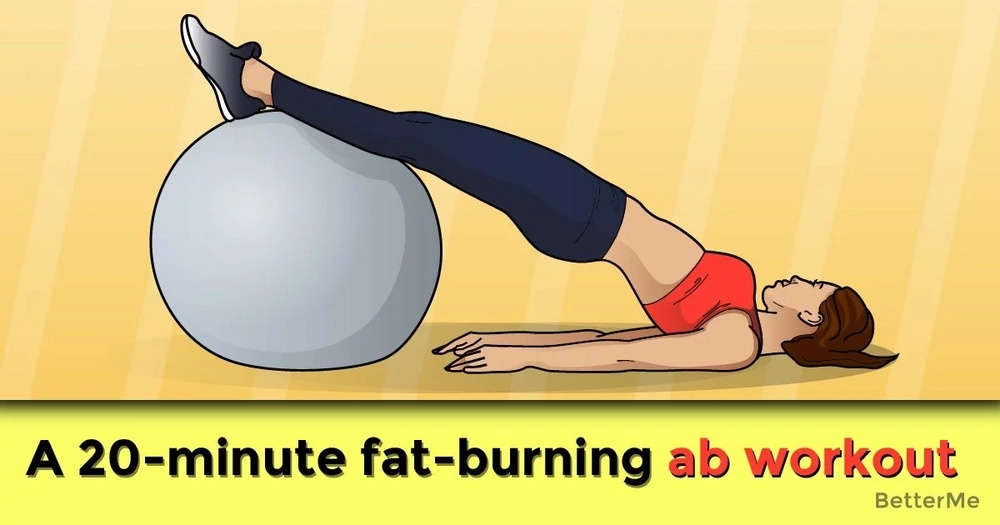 A 20-minute fat-burning ab workout