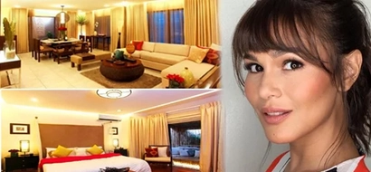 Modern eclectic pieces complete Iza Calzado's warm, Filipino-style home in QC