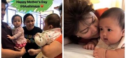 Baby Tali meets Geoff Eigenmann's baby girl ; bonds with Pauleen Luna's mother