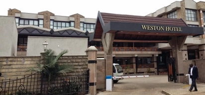 Bungoma governor's 'bodyguard' lures a man into Ruto's Weston Hotel... then the worst happens (photos)
