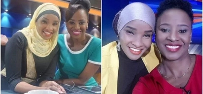 18 photos of Citizen TV's Lulu Hassan and Kanze Dena that will make you fall in love with their chemistry