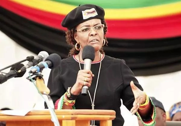 Grace Mugabe reportedly claims she acted in self defense. Photo: AP