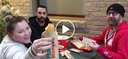 3 Canadian radio hosts try Jollibee's chickenjoy, spaghetti, peach mango pie and they love it