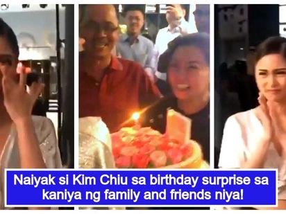 Nakakaiyak na video! Kim Chiu breaks down after getting a birthday surprise from family and friends