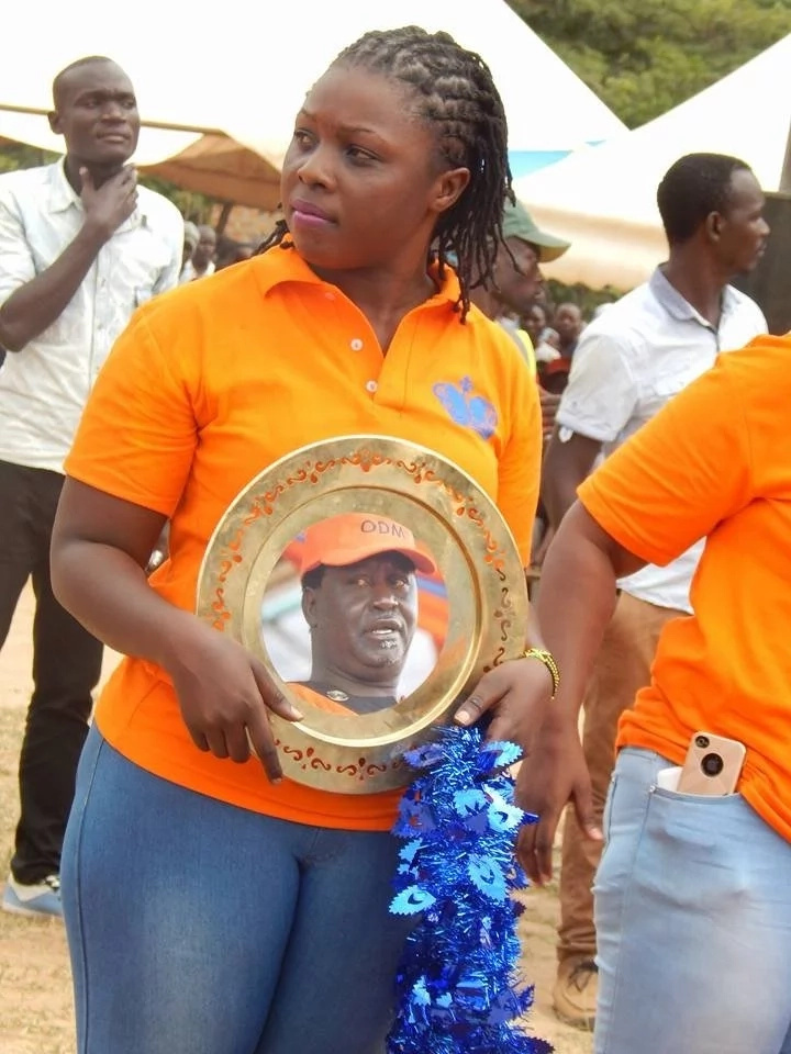 Raila Odinga welcomed heroically in Teso