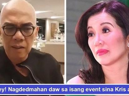 May dedmahang ganap? Kris Aquino at Boy Abunda hindi raw nagbatian sa isang premiere night