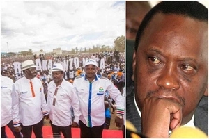 Raila Odinga unveils the 7 CORE pillars of NASA
