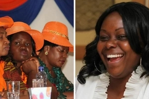 Millie Odhiambo and Gladys Wanga in a major fall-out