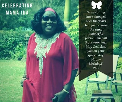 Raila Odinga, daughter celebrate Ida's birthday