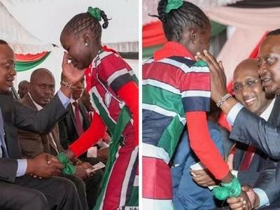 Ukarimu wa Rais Uhuru: Atangaza kuwasomesha watoto wa marehemu mama yao aliyefariki dunia akishangilia ushindi wake