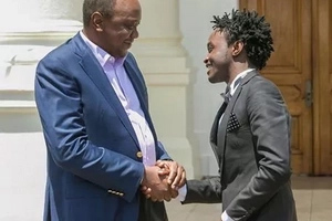Singer Bahati to join politics in 2017 after unseating Uhuru