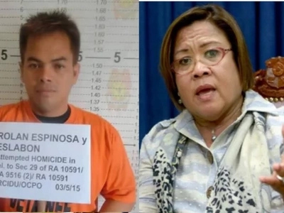 De Lima tags alleged links to Kerwin Espinosa as 'lies'