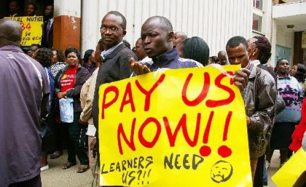 Teachers issue 7 day strike notice weeks after Uhuru's re-election