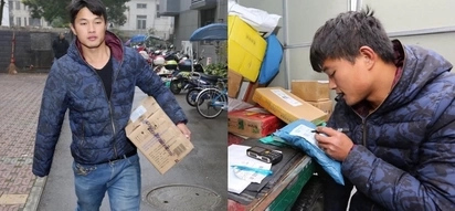 This dedicated one-armed courier wows us by delivering 400 packages within 15 hours!