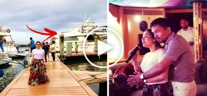 Manny Pacquiao & his wife Jinkee spent their Easter Sunday on their luxury yacht! Their new photos & video will surely melt your heart!