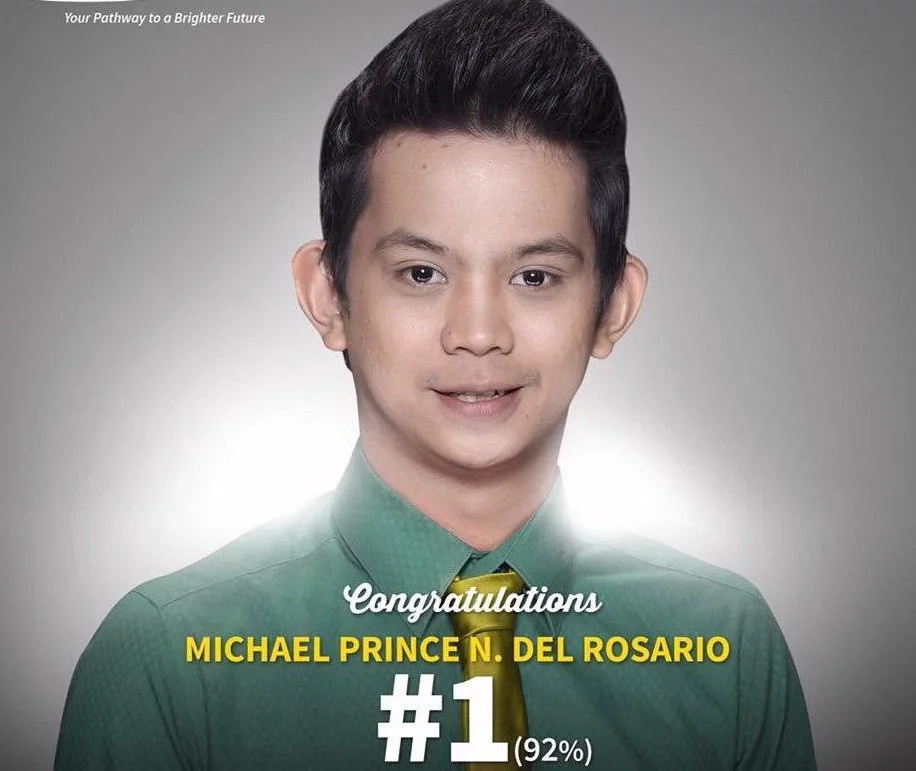 High school dropout tops Licensure Exam for Teachers