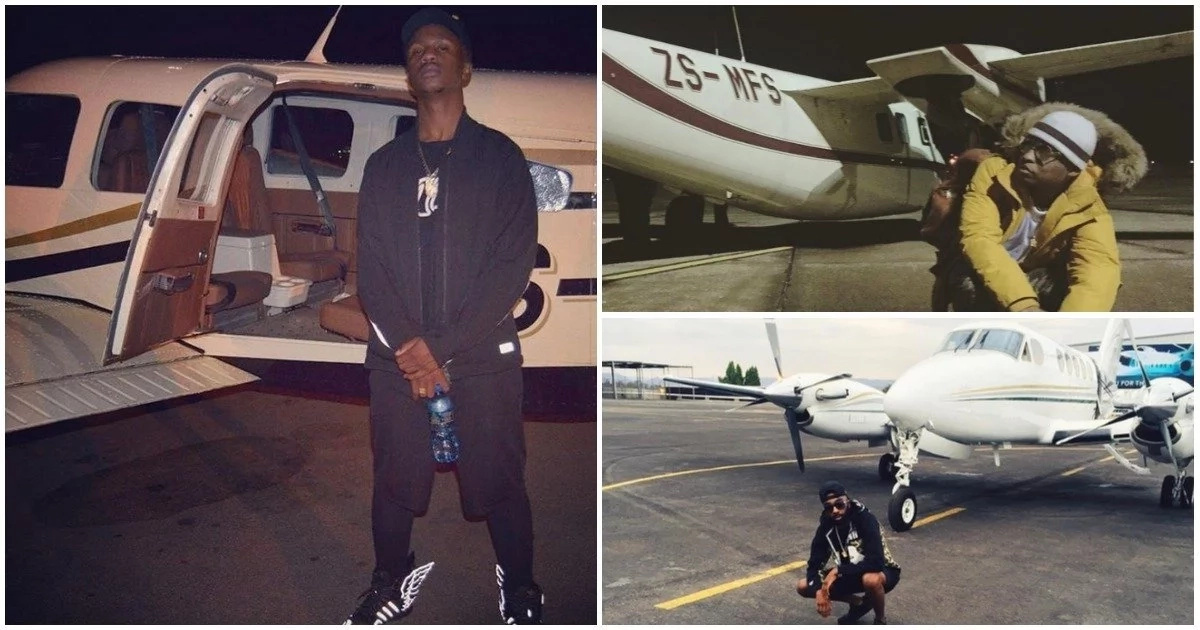 Living the dream life! Here are 5 South African rappers who move around in private jets