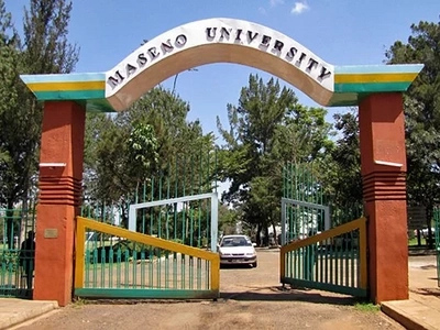 Maseno University set on fire