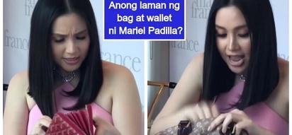 Mariel Rodriguez Padilla, ipinakita ang laman ng kaniyang mamahaling bag at wallet