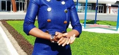 KTN news anchor shocked after watching Ugandan news, Blames Bhang