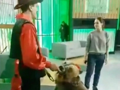 Young Woman Quickly Learns Why You Should Never Surprise A Bear