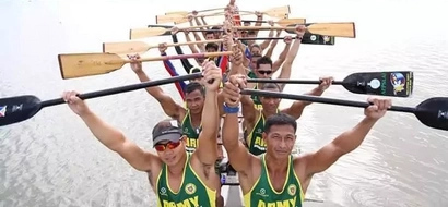 Philippine Army Dragon Boat Team Eyes for Gold