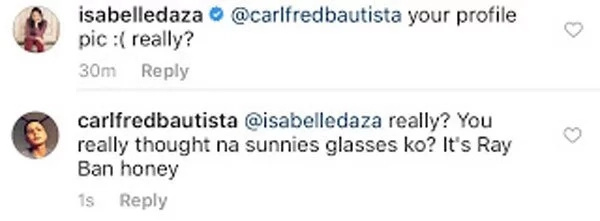 Netizen makes public DM of Isabelle Daza