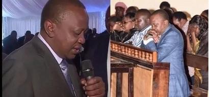 Uhuru aombea ushindi wa Jubilee hadharani
