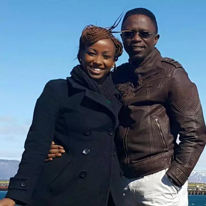 Namwamba gets an encouraging message from his wife