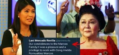 Patay na raw? Lani Mercado announces on Twitter that Imelda Marcos has died. But the full story will shock you!