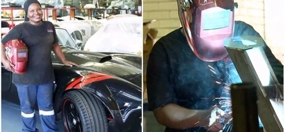 Meet 36-year-old woman who is proud of building replicas of rare vintage cars
