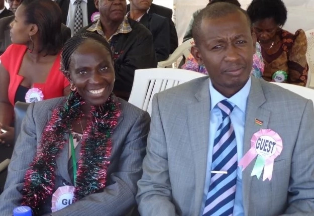 Margaret Nyairera forced to push vehicle during homecoming