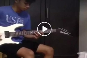 Talented Pinoy teenager shares epic guitar cover of international hit in viral video
