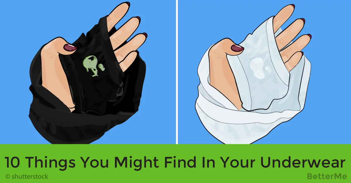 Top-10 things you might find in your underwear and what it