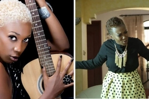 Singer Wahu comes home abrubtly, catches her man doing the unthinkable infront of their son