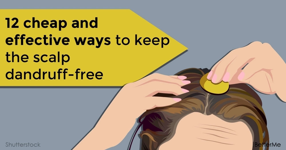 12 cheap and effective ways to keep the scalp dandruff-free